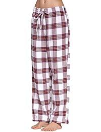 CYZ Women's 100% Cotton Super Soft Flannel Plaid...