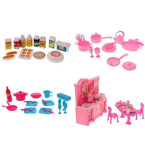 food and dishes for barbies - 1