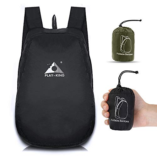 Small Packable Backpack Lightweight Waterproof Foldable Travel Hiking Daypack