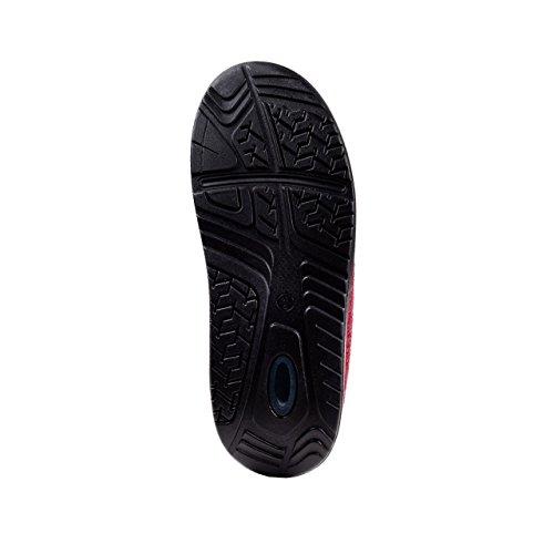 Wellness Comfort Zapatillas abroll Mujer de la Salud Efecto Borgoña borgoña