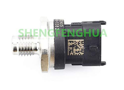 SHENGFENGHUA Capteur de pression de rail de carburant LR009732 0281002405 pour Land Rover Freelander MK1 2.0 Td4