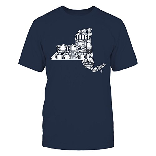 Aaron Judge - 2017 New York State Outline Team Roster T Shirt, Long Sleeve, Sweatshirt, Hoodie, for best time ()