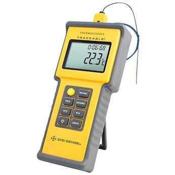 Digi-Sense Calibrated Water-Resistant Thermocouple Thermometer by Digi-Sense