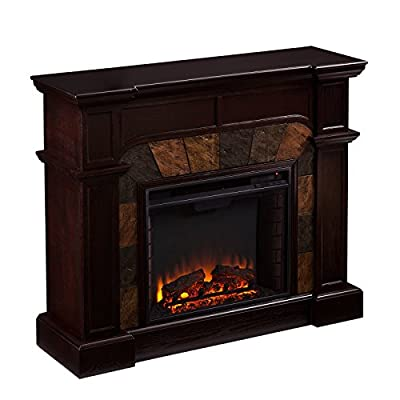 SEI Cartwright Convertible Electric Fireplace