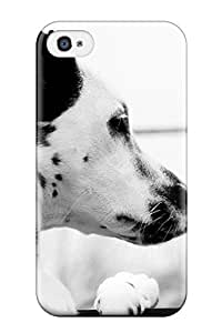 Addfree Snap On Hard Case Cover Dalmatian Protector For Iphone 4/4s