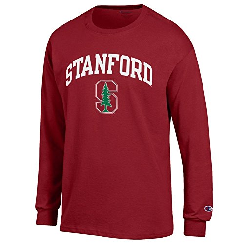 Elite Fan Shop Stanford Cardinals Long Sleeve Tshirt Arch Cardinal - - Shirt Stanford