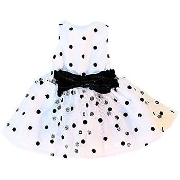 "Polka Dot Dress Fits Wellie Wishers 14.5/"" American Girl Clothes"