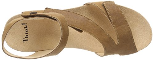 55 Kombi 55 Dumia 282990 Kombi Lion Brown Women's Sandals Think Gladiator Lion Pn8qU6xPFT