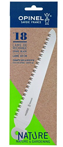 Opinel Spare Blade for N Degree18 Folding Saw Knife in a Blister Pack, 18 cm Blade