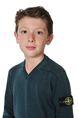 Stone Island Pullover Jungen Grün 4