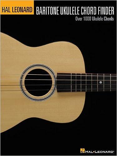 Ukulele baritone ukulele chords : Amazon.com: Hal Leonard Baritone Ukulele Chord Finder ...