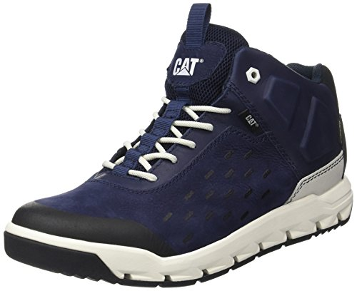 Caterpillar Parched Gore-Tex, Zapatillas Altas para Hombre Azul (Mens Blue Depths)