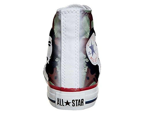 CONVERSE personalizzate All Star Sneaker unisex (Prodotto Artigianale) Che Guevara