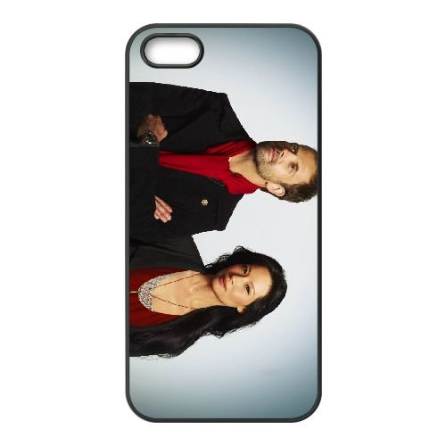 Elementary 4 coque iPhone 5 5S cellulaire cas coque de téléphone cas téléphone cellulaire noir couvercle EOKXLLNCD23431