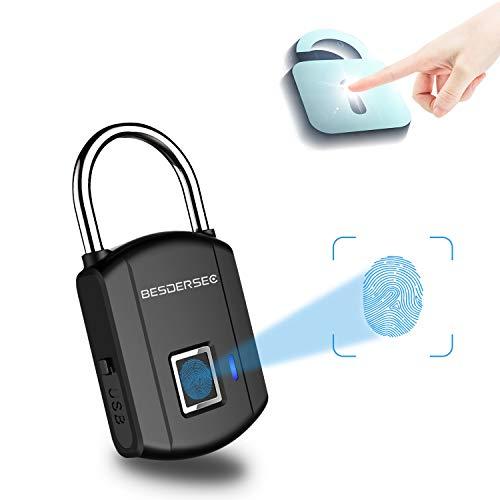 Fingerprint Padlock Outdoor Smart