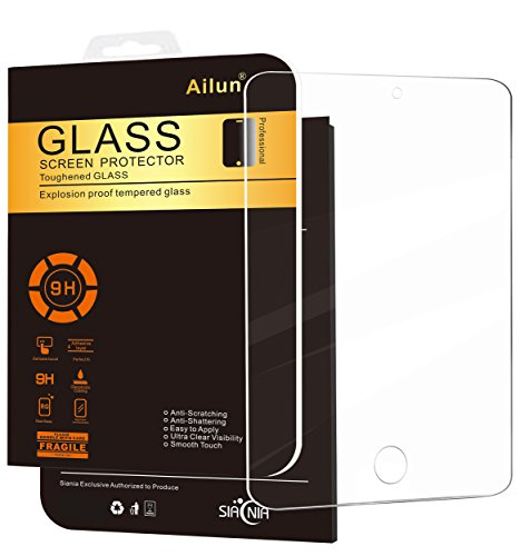 Ailun Screen Protector for iPad Mini 4,Tempered Glass,9H Hardness,2.5D...