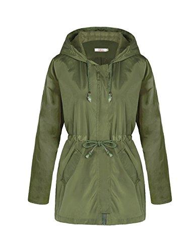 Nylon Hooded Coat - 7