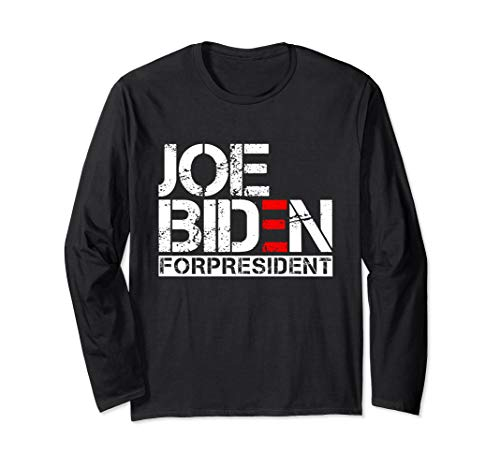 Joe Biden President 2020 Election Democratic Distressed Tee Long Sleeve T-Shirt]()