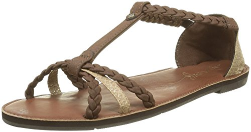 Brown champagne Ankle marrone With Strap Naomi Sandals Reef WBfpx