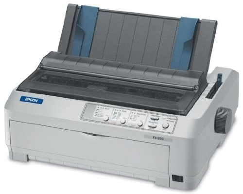 (Epson FX-890 Dot Matrix Printer, 9 PIN, ELG, PARALLEL/USB . . .)