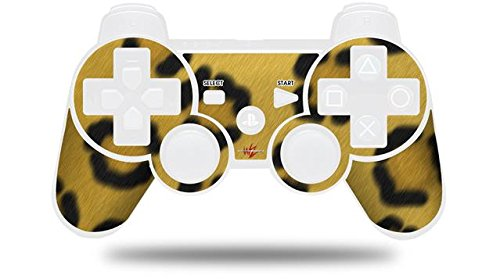 Sony PS3 Controller Decal Style Skin - Leopard Skin (CONTROLLER NOT INCLUDED)