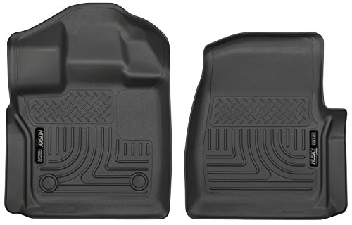 Husky Liners Front Floor Liners Fits 15-19 F150 Standard Cab Pickup (Mat Ford Standard)