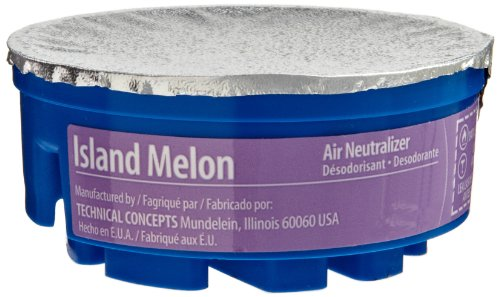 Rubbermaid Commercial FG750327 Refill for TC Gel Automatic Air Freshener System, Island Melon