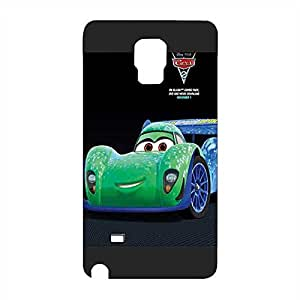 Special Design Funda Case For SamSung Galaxy Note 4, Disney Pixar Cars Shock Absorbing Perfect Fit Plastic Funda Case For Guys