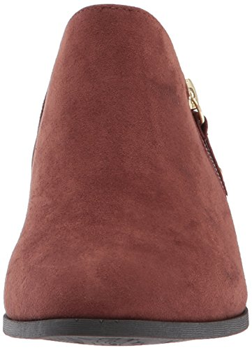 Microfiber Women's Scholl's Brown Bootie Ankle Copper Brief Dr n50gAdqUx5