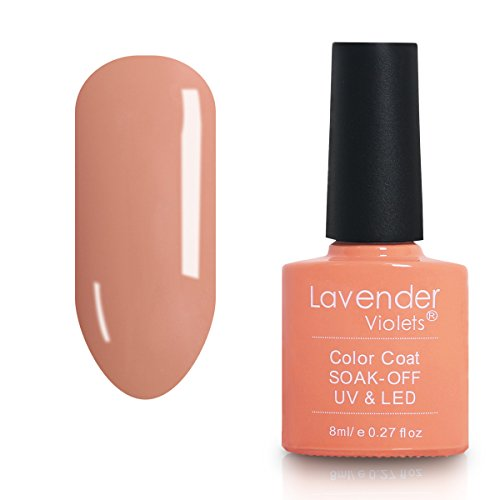 Soak Off UV Gel 8ml Coral Salon Gel Manicure Pendicure