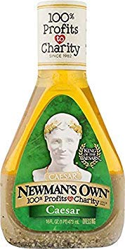 Newman's Own Ceasar Dressing, 16 oz, 2 pk