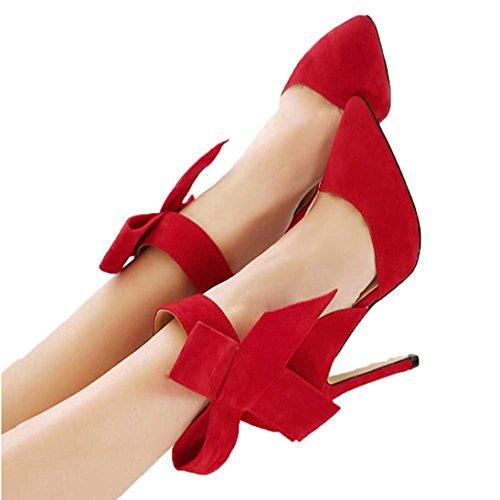 Red Mujer Red Plataforma hunpta hunpta Plataforma Mujer hunpta 0adxffw6