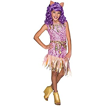 this item rubies costume monster high haunted clawdeen wolf child costume medium - Clawdeen Wolf Halloween Costume