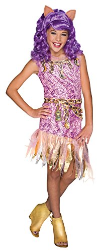 Clawdeen Wolf Costume - Rubie's Costume Monster High Haunted Clawdeen