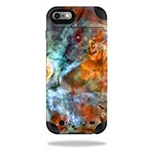 MightySkins Protective Vinyl Skin Decal for Mophie Juice Pack iPhone 6 Plus wrap cover sticker skins Space Cloud