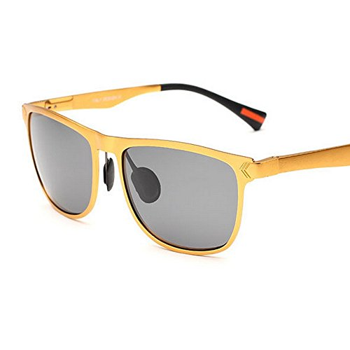 Hot Metal Frame Polarized Driving Fashion para Oro Oro Color Mens Hombres Sunglasses Yxsd Oq5xAwfnI