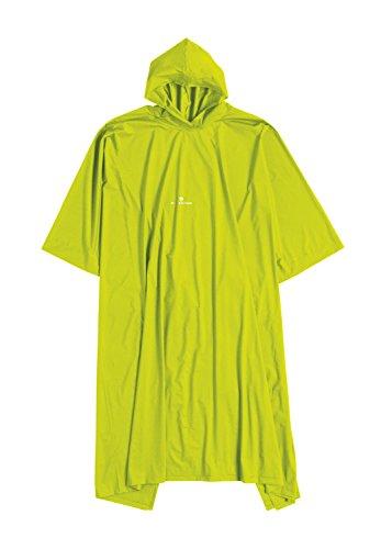 Ferrino - Poncho, color verde,amarillo