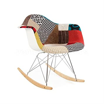 Amazon.com: Estilo de Eames RAR Rocking Brazo Silla ...