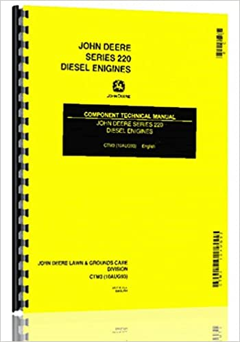Yanmar 3 And 4 Cyl Diesel Engine Service Manual 6301147759832 Amazon Com Books