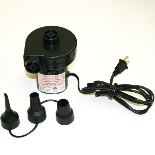 Smart Air Beds A/C Electrical Air Bed Pump (110-125v 60Hz, (Electric Inflatables Air Pump)