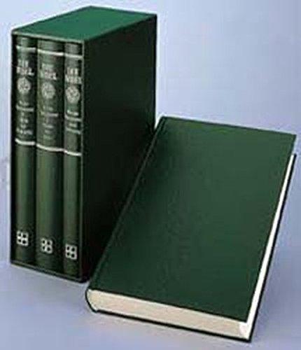 Bibelausgaben, Lutherbibel, Großdruck, 3 Bde. (Nr.1734)