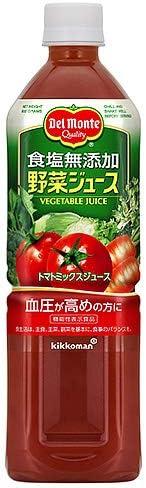 デルモンテ 野菜ジュース 食塩無添加900gPET×12本入×(2ケース)