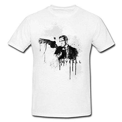 Skyfall T-Shirt Herren, Men mit stylischen Motiv von Paul Sinus