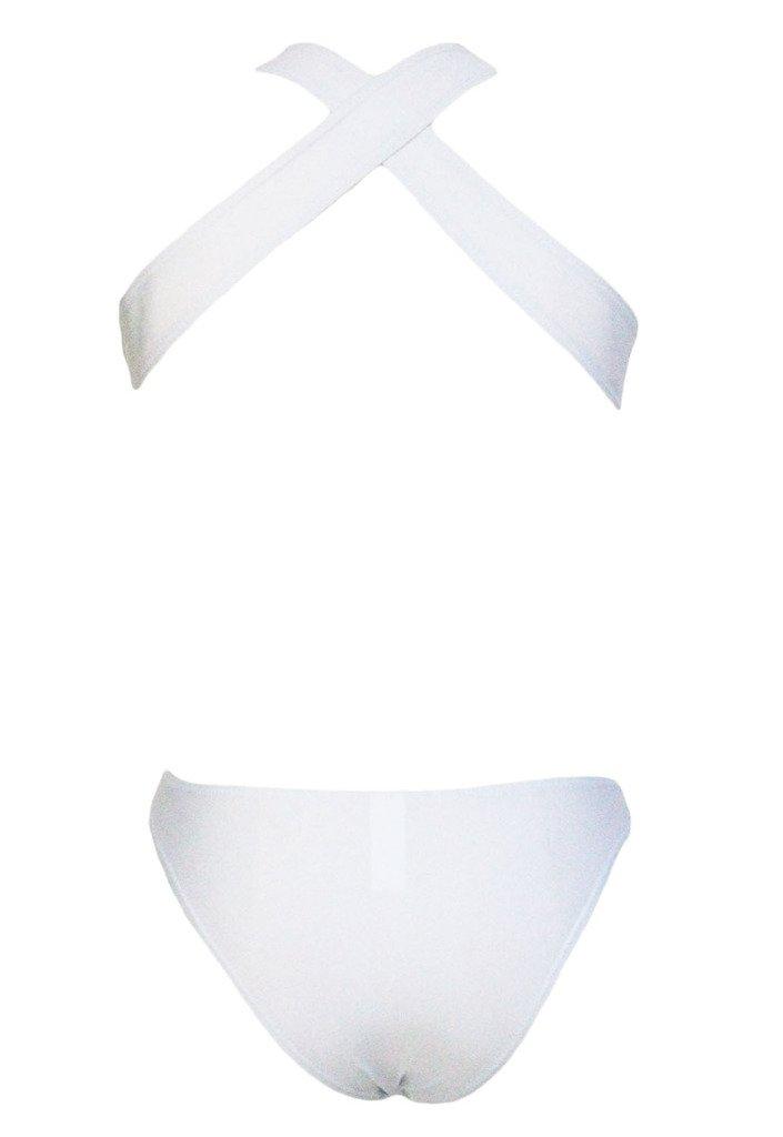 Bigood Maillot de Bain 1 Pièce Femme Plage Piscine Triangle Creux Noir Tour Taille 72-92cm Réductions À Bas Prix Nice NKS1opthAS
