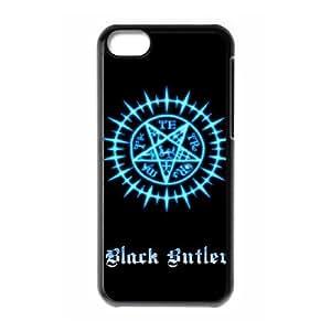 iPhone 5C Phone Case Cover Black Butler BB8995