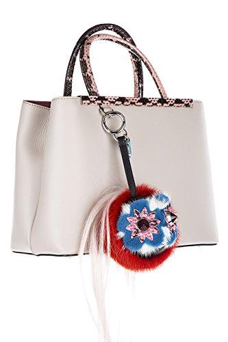Fendi charm ciondolo da borsa donna mostro becco bug blossy rosso