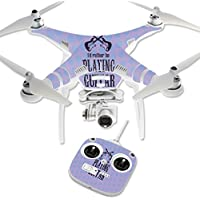 Skin For DJI Phantom 3 Standard – Playing Guitar | MightySkins Protective, Durable, and Unique Vinyl Decal wrap cover | Easy To Apply, Remove, and Change Styles | Made in the USA