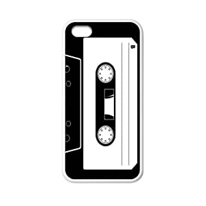 super shining day Cellphone Accessories Vintage Cassette Tape Apple iPhone 5C TPU Material Shell