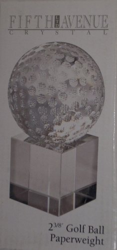 Fifth Avenue Crystal Golf Ball - Golf Collectors Items