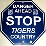 Detroit Tigers Stop Sign